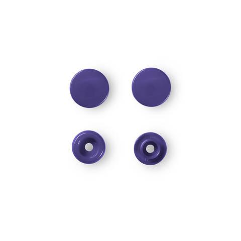 NF Druckkn Color Snaps rund 12,4 mm violett kaufen im Makerist Materialshop