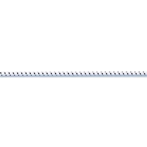 Elastic-Kordel 2,5 mm weiß/schwarz kaufen im Makerist Materialshop