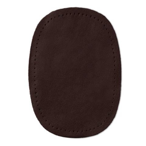 Patches Nappaleder (nähen) 10 x 14 cm dunkelbraun kaufen im Makerist Materialshop