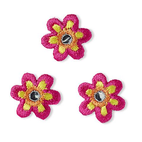 Applikation Blume klein pink mit Spiegel kaufen im Makerist Materialshop