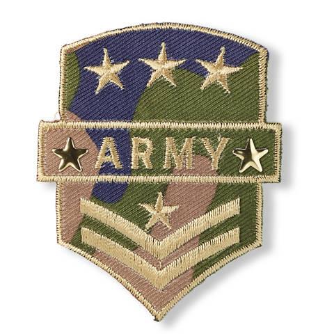 Applikation Military Army Wappen khaki kaufen im Makerist Materialshop