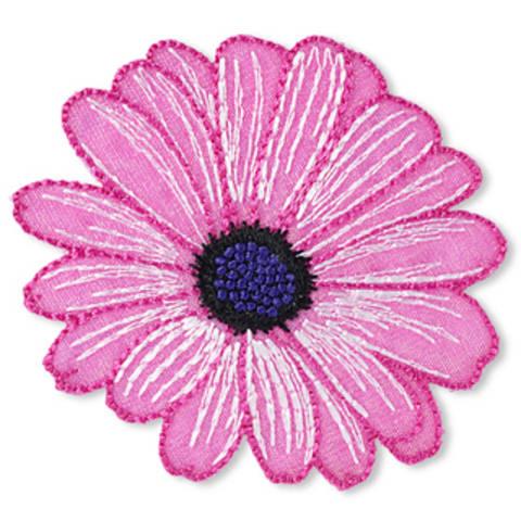 Applikation Exklusiv Blume pink kaufen im Makerist Materialshop