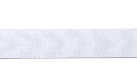 Baumwollband kräftig 20 mm weiß (A901510) kaufen im Makerist Materialshop