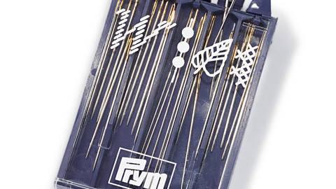Stick- und Perlnadeln ST silberfarbig/goldfarbig sortiert kaufen im Makerist Materialshop