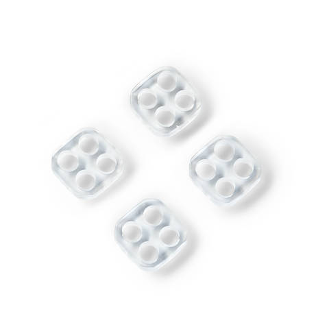 Unternähknöpfe KST 11 mm transparent kaufen im Makerist Materialshop