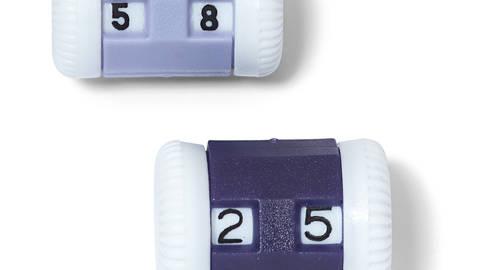 Reihenzähler klein + groß KST farbig sortiert kaufen im Makerist Materialshop