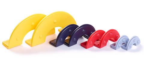 Pompon-Set für 4 Größen farbig sortiert kaufen im Makerist Materialshop