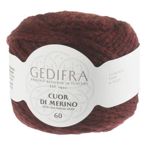 Cuor di Merino von Gedifra - 00213 weinrot kaufen im Makerist Materialshop