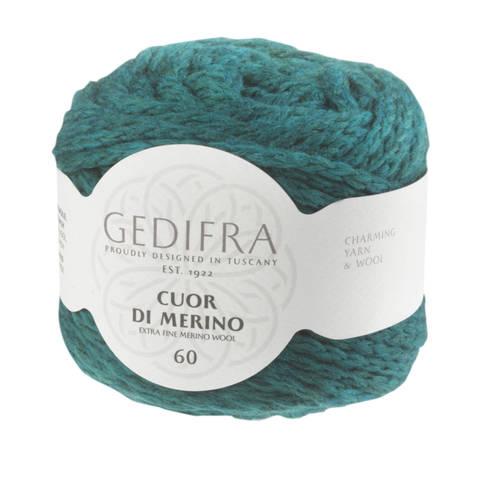 Cuor di Merino von Gedifra - 00229 dunkeltürkis kaufen im Makerist Materialshop