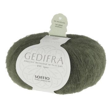 Soffio von Gedifra - 00623 dunkelgrün - Wolle und Garn kaufen im Makerist Materialshop