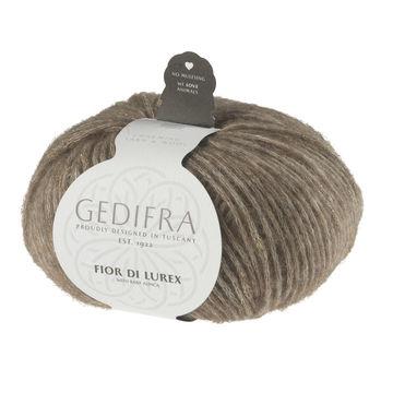 Fior di Lurex von Gedifra - 00805 hellbraun gold - Wolle und Garn kaufen im Makerist Materialshop