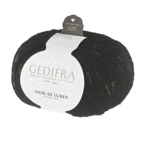 Fior di Lurex von Gedifra - 00808 schwarz gold kaufen im Makerist Materialshop