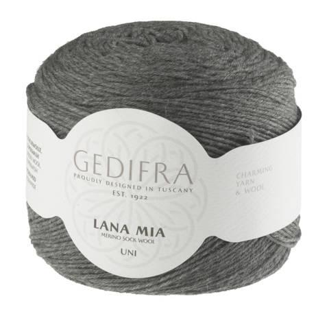 Lana Mia Uni Sockenwolle von Gedifra - 390 m kaufen im Makerist Materialshop