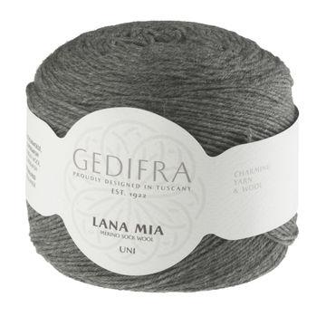 Lana Mia Uni von Gedifra - 00903 mausgrau - Wolle und Garn kaufen im Makerist Materialshop