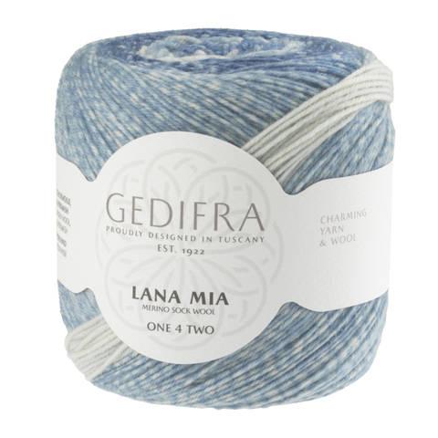 Lana Mia One 4 Two von Gedifra - 00955 blau kaufen im Makerist Materialshop
