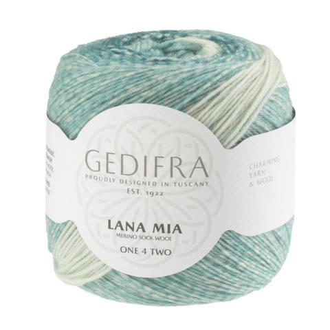 Lana Mia One 4 Two von Gedifra - 00956 türkis kaufen im Makerist Materialshop