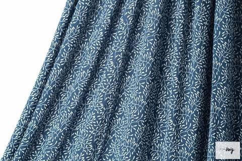 Dunkelblauer Modalstoff lillestoff: Sensitive - 150 cm kaufen im Makerist Materialshop