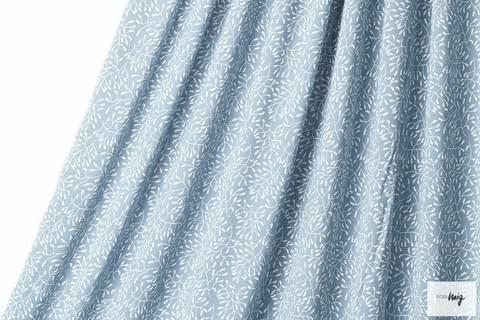 Rauchblauer Modalstoff lillestoff: Sensitive - 150 cm kaufen im Makerist Materialshop