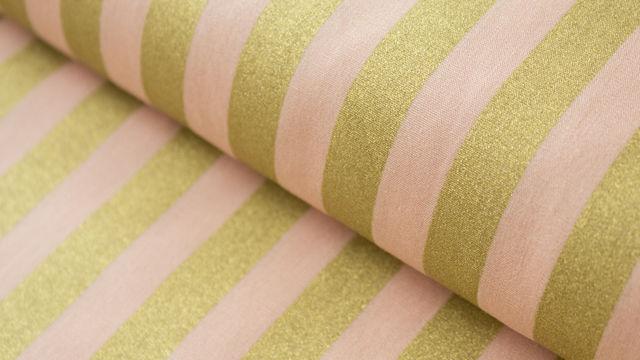 Rosafarbener Baumwollstoff: Bouquet Sauvage - 140 cm - Stoffe kaufen im Makerist Materialshop