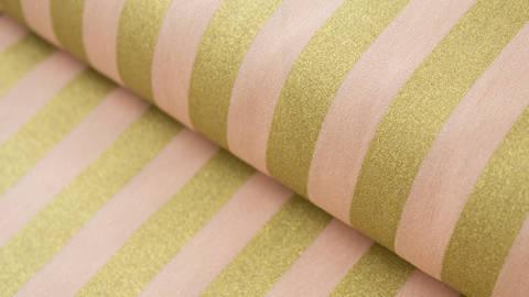 Rosafarbener Baumwollstoff: Bouquet Sauvage - 140 cm kaufen im Makerist Materialshop