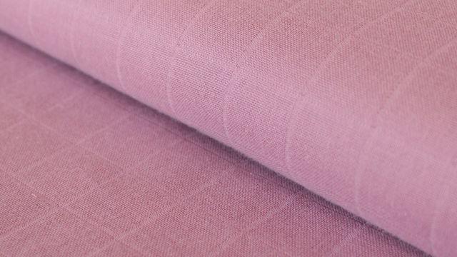 Altroséfarbener Uni Baumwollstoff Mousseline - 140 cm - Stoffe kaufen im Makerist Materialshop