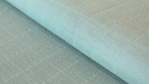 Mintfarbener Uni Baumwollstoff Mousseline - 140 cm kaufen im Makerist Materialshop