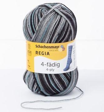 Regia 4-fädig Color 50g - 07390 fog  - Wolle und Garn kaufen im Makerist Materialshop
