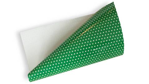 Pünktchen Flexfolie zum Plotten - grün kaufen im Makerist Materialshop