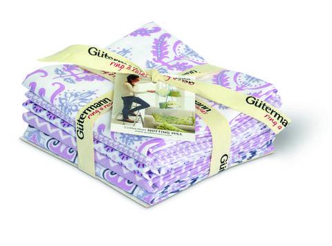 Fat Quarter Bundles von Gütermann creativ: Notting Hill - col.1 rosenholz/weiß kaufen im Makerist Materialshop