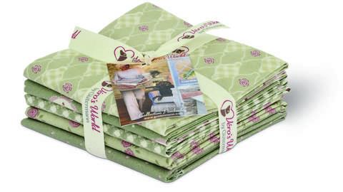 Fat Quarter Bundles von Gütermann creativ: Pemberley -  col.5 grün kaufen im Makerist Materialshop