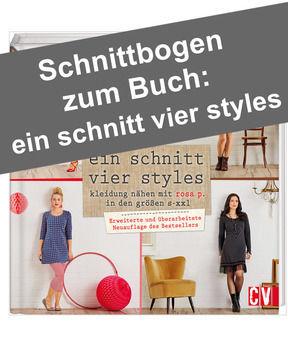 """f202fd837c8493 Schnittmuster  """"Ein Schnitt – vier Styles"""" von Rosa P."""
