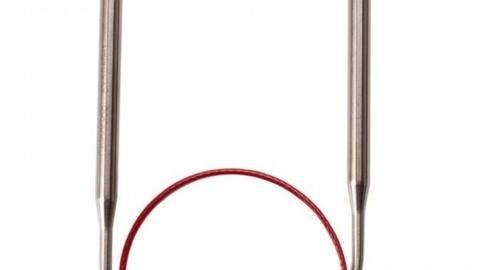 Rundstricknadel KNIT RED Edelstahl von ChiaoGoo kaufen im Makerist Materialshop