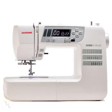 Janome 230 DC mit Bonus-Anschiebetisch - Nähmaschinen kaufen im Makerist Materialshop