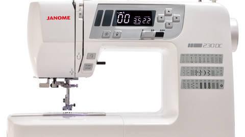Janome 230 DC mit Bonus-Anschiebetisch kaufen im Makerist Materialshop