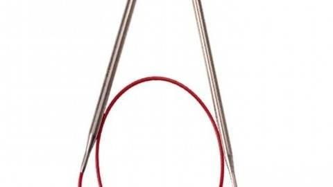 Rundstricknadel RED LACE Edelstahl von ChiaoGoo 8 mm - 80 cm kaufen im Makerist Materialshop