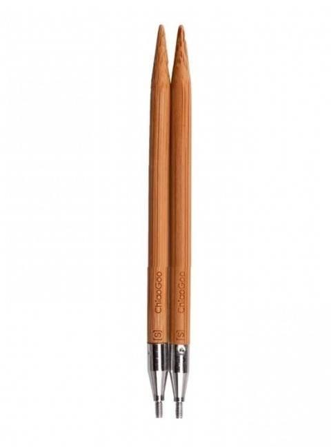 Auswechselbare Nadelspitzen SPIN Bamboo Patina 6 mm - 10 cm kaufen im Makerist Materialshop
