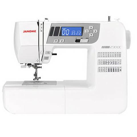 Janome 230 DC mit Bonus-Anschiebetisch Ausstellungsmaschine kaufen im Makerist Materialshop