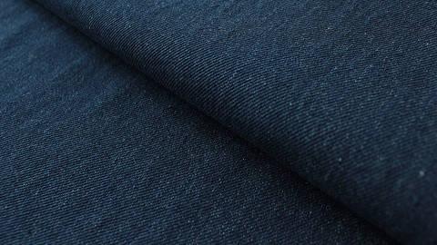 Dunkelblauer Uni Jeansstoff: Indigo - 145 cm kaufen im Makerist Materialshop