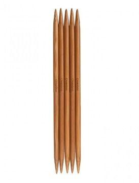 Nadelspiel Bamboo Patina von ChiaoGoo 8 mm - 20 cm - 5 St - Kurzwaren und Zubehör kaufen im Makerist Materialshop