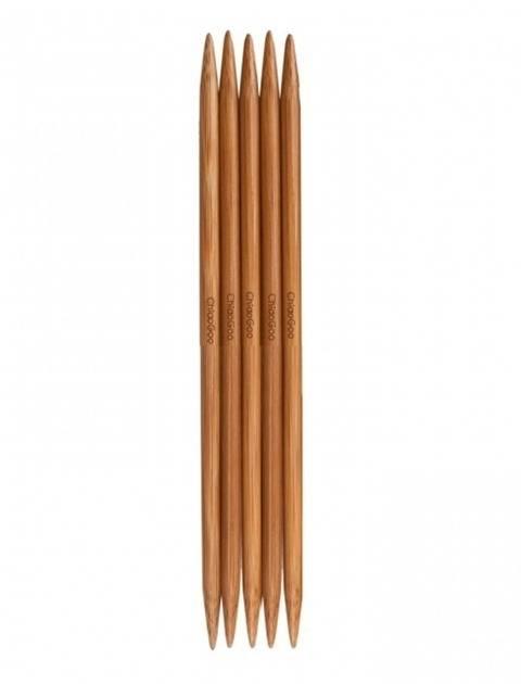 Nadelspiel Bamboo Patina von ChiaoGoo 8 mm - 20 cm - 5 St kaufen im Makerist Materialshop