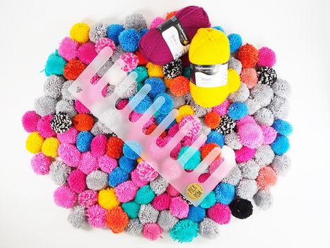 Pick and Pom: Das Pom Pom Werkzeug von Cherry Picking - Bastelmaterial kaufen im Makerist Materialshop