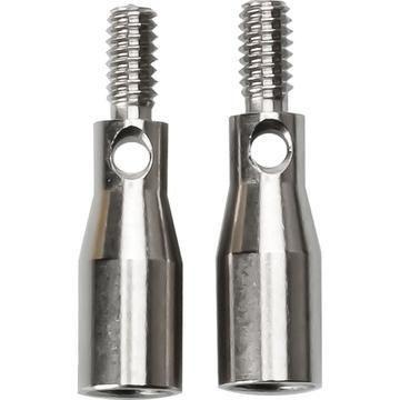 Adapter für auswechselbare Nadelspitzen - L-S - 2 St - Kurzwaren und Zubehör kaufen im Makerist Materialshop