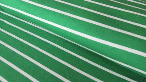 Grüne Blockstreifen Viskosejersey: St. Tropez - 158 cm  kaufen im Makerist Materialshop