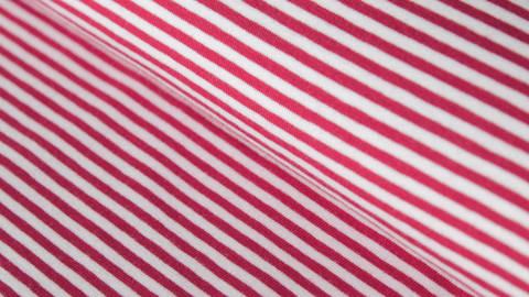 Rot-weißer Ringeljersey: Spandex Stripes - 165 cm  kaufen im Makerist Materialshop