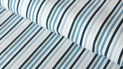 Blau gestreifter Jersey: Stripes - 150 cm kaufen im Makerist Materialshop