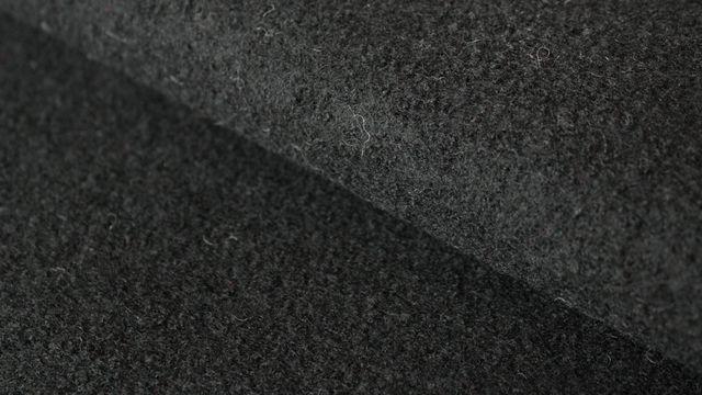 Schwarzer Uni Walkstoff: Boiled Wool - 145 cm - Stoffe kaufen im Makerist Materialshop