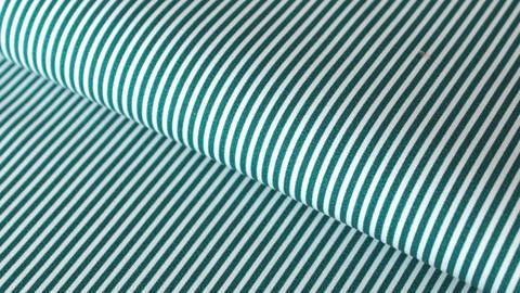 Petrol-weiß bedruckter Baumwollstoff: Stripes - 150 cm kaufen im Makerist Materialshop