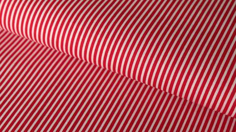 Rot-weiß bedruckter Baumwollstoff: Stripes - 150 cm kaufen im Makerist Materialshop