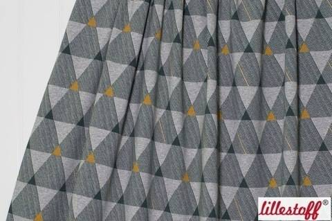 Grau melierter Jersey: Dreiecke Kombi - 160 cm kaufen im Makerist Materialshop