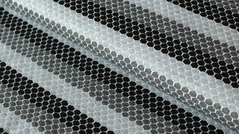 Grau gestreifter Jersey: Sportswear - 160 cm kaufen im Makerist Materialshop
